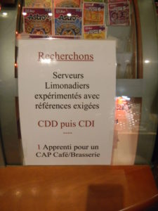 cdd annonce